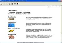 The Acne Treatment Handbook