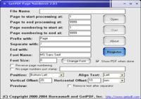 GetPDF Page Numberer