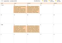 Agenda Ligue des Champions 2018-2019 - Phase de poules