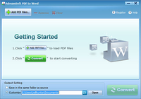 Adreamsoft PDF to Word Converter