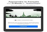 Le Monde - cours de français