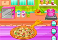 Cuisson de la pâte à pizza