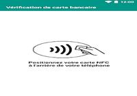 Testeur carte de crédit NFC