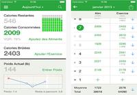 Compteur de Calories FatSecret iOS