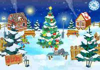 Christmas Yard Screensaver