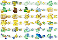 Large Money Icons
