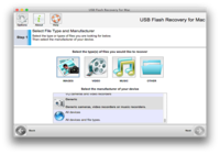 321Soft USB Flash Recovery for Mac v5.1.4.3