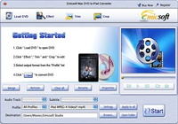 Emicsoft Mac DVD en iPad Convertisseur