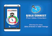 Trouvez direction de Qibla