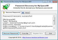 Password Recovery for MySpaceIM