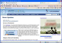 LiveJournal Toolbar