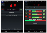 Journal Diète Watchers Android