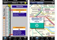 Paris ci la sortie du Métro iOS