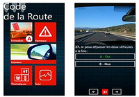 Code de la route Windows Phone