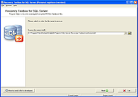 Recovery Toolbox for SQL Server