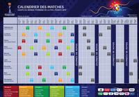 Calendrier Coupe du Monde féminine de football 2019