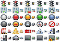 Standard Road Icons