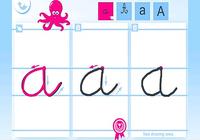 Ecrire l'alphabet