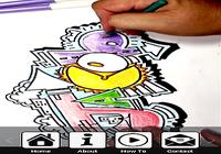Dessiner des graffitis Lettres