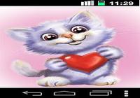 Drôle doux chat live wallpaper