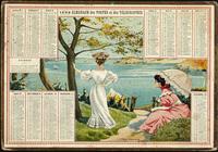 Pack de calendriers vintage 1908 - 2020