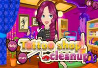 Boutique de tattoo à nettoyer