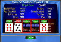 Casino Video Poker CGF