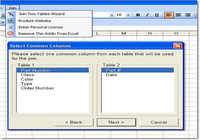 Excel Join (Merge, Match) Two Tables Software