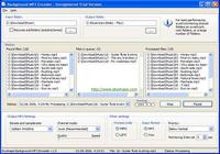 Background MP3 Encoder