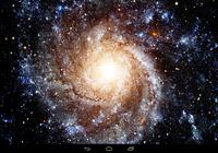 Fond d'écran de la galaxie