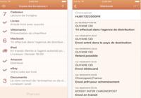 Parcel - Suivi de livraison iOS