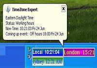 TimeZone Expert world time zone clock