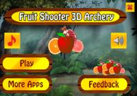 Tireur de fruit 3d tir à l'arc
