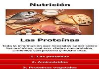 Nutrición, Proteínas