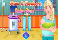 Jeux-nés des soins de bébé