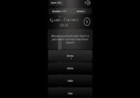 GoT Quiz Android