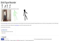 Stick Figure Recorder