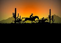 Cowboy Ride Screensaver