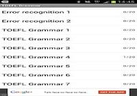 TOEFL Grammaire