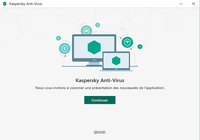 Kaspersky Antivirus 2020 Technical preview