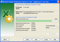 Password Recovery Engine for Excel