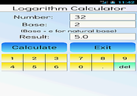 Calculatrice Logarithme