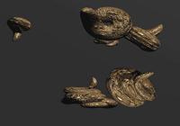 Bronze Flying Poohs