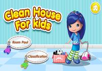 Filles maison jeux nettoyage