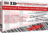 IDAutomation Universal Barcode Font
