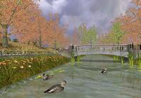 Golden Autumn 3D Screensaver