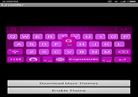 Lavender Keyboard Theme