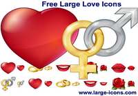 Free Large Love Icons