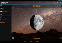 Lune widgets de phase