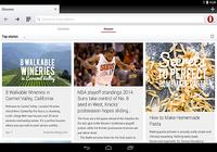 Navigateur Opera pour Android